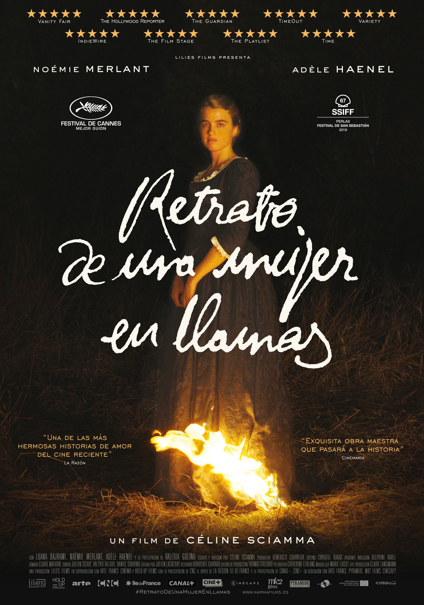Retrato de una mujer en llamas (Portrait of a Lady on Fire) | Karma Films